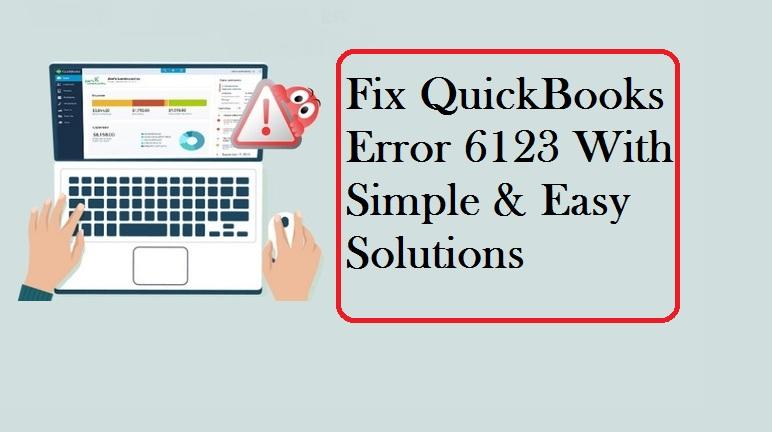 Quickbooks Error 6123 support