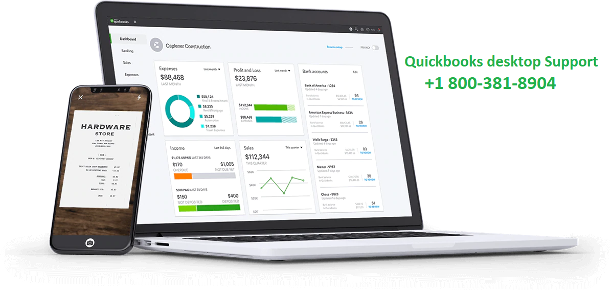 Quickbooks desktop support phone number